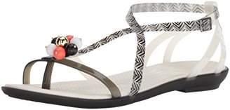 Crocs Women's Drew Barrymore Isabella Gladiator Flat Sandal