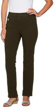 Factory Quacker DreamJeannes Pull-on Short Straight Leg Pants
