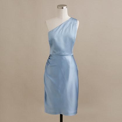 J.Crew Nanine dress in satin