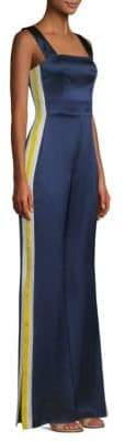 Alexis Luisana Sport Stripe Silk Jumpsuit