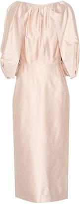 Gabriela Hearst Francisca silk midi dress