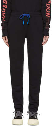 Rag & Bone Black Best Lounge Pants