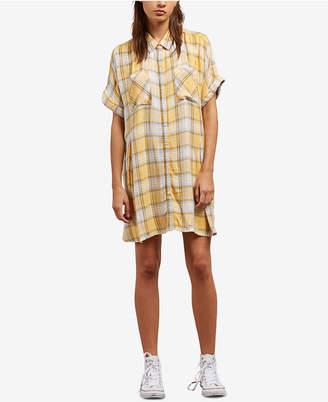 Volcom Juniors' Sun Punch Shirtdress