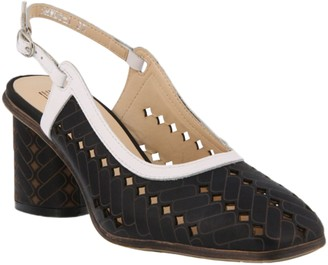 Spring Step L'Artiste by Leather Slingback Sandals - Flirt