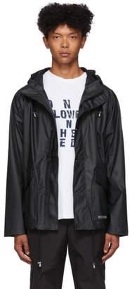Stutterheim Black Stenhamra Lightweight Raincoat