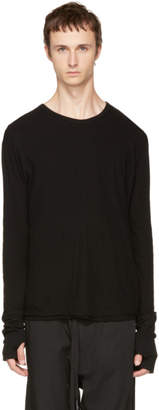Nude:mm Black Long Sleeve T-Shirt