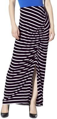 Mossimo Women's Drapey Knit Maxi Skirt - Assorted Colors