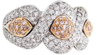 Ring 18K Diamond Infinity Motif Band