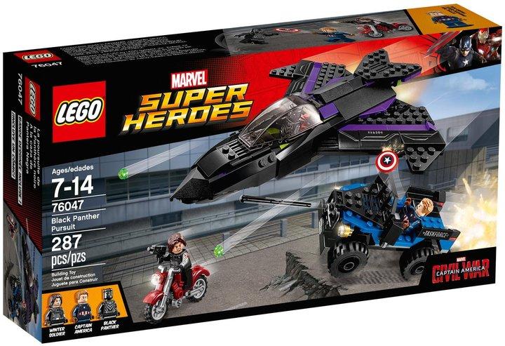 LEGO Super Heroes Black Panther Pursuit- 76047