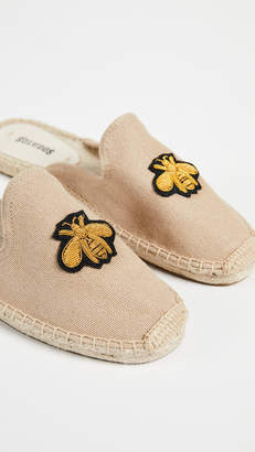 Soludos Bees Beaded Mules