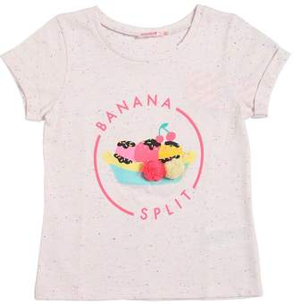 Billieblush Banana Split Print Cotton Jersey T-Shirt