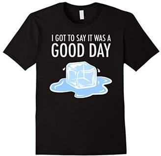 DAY Birger et Mikkelsen It Was A Good | Ice Cube | Hip Hop Rap T Shirt