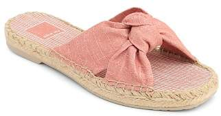 Dolce Vita Women's Knotted Espadrille Slide Sandals