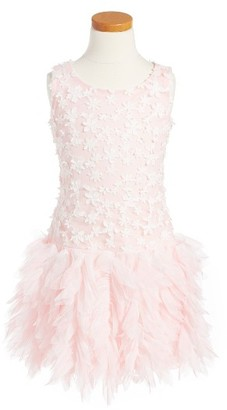 Toddler Girl's Biscotti Sleeveless Tulle Dress $86 thestylecure.com
