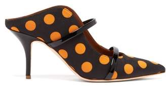 Malone Souliers By Roy Luwolt - X Ungaro Maureen Polka Dot Mules - Womens - Black Yellow