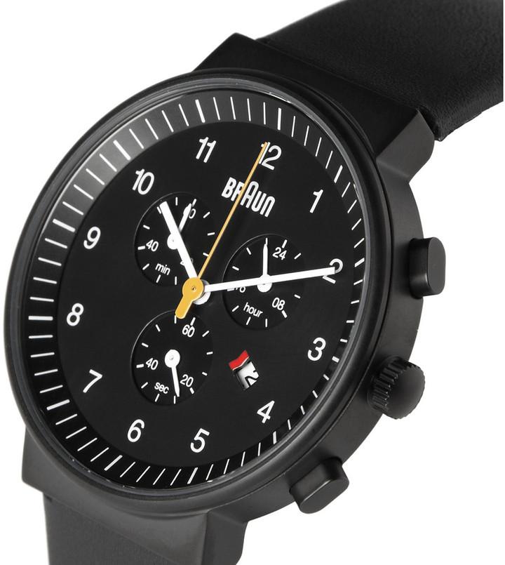 Braun x Dieter Rams BN0035 Stainless Steel Chronograph Watch