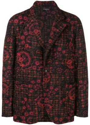 Engineered Garments folk printed blazer
