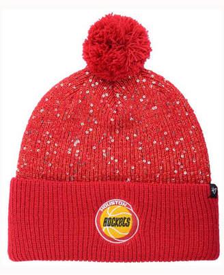 '47 Women's Houston Rockets Hardwood Classics Glint Knit Hat