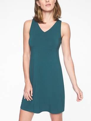 Athleta Santorini V Neck Solid Dress