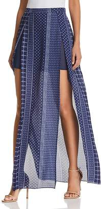 Ramy Brook Jayden Slit-Front Maxi Skirt