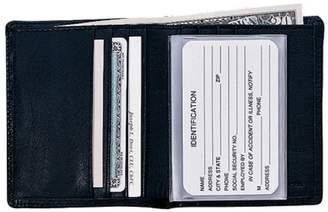 Royce Leather Nappa Leather Bifold Wallet