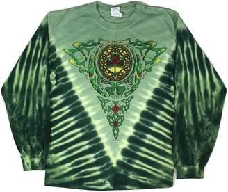 Celtic Blue Mountain Dyes LLC Licensed Men's Grateful Dead Knot Long Sleeve T-Shirt