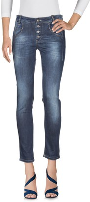 Fornarina Denim pants - Item 42685638IT