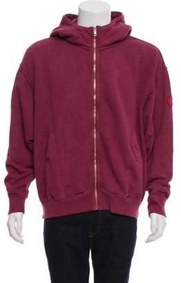 Cav Empt Hooded Zip-Up Sweatshirt w/ Tags