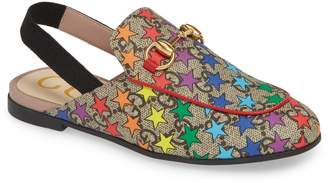 a063208957e Gucci Princetown GG Rainbow Star Loafer Mule