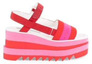 Stella McCartney Sneakelyse Platform Sandals