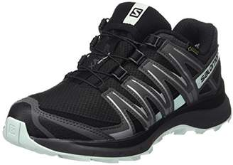 Salomon Xa Lite GTX, Women's Trail Running Shoes, Black (Black/Magnet/Fair Aqua), (43 1/3 EU)