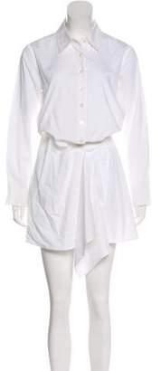 Thakoon Long Sleeve Shirt Dress