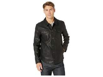 Levi's Faux Leather Shirt Jacket