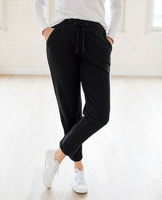 Women's Cropped Pant In French Terry $78 thestylecure.com