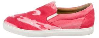 DSQUARED2 Round-Toe Slip-On Sneakers