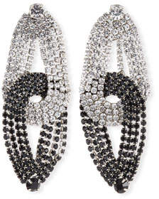 Lulu Frost Quixotic Crystal Statement Earrings