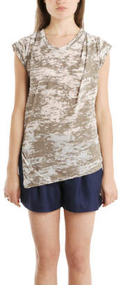 3.1 Phillip Lim Slant Hem Burnout Muscle Tee