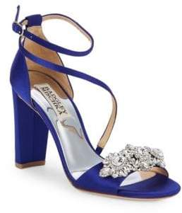 Badgley Mischka Vanda Embellished Sandals