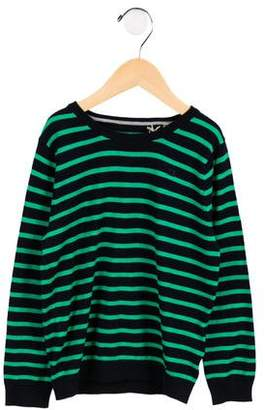 Scotch & Soda Boys' Embroidered Striped Sweater w/ Tags