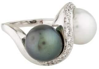 Ring Pearl & Diamond