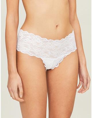 Cosabella Hottie Never Say Never stretch-lace bikini briefs