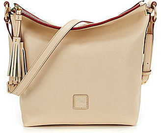 Dooney & Bourke Florentine Collection Small Dixon Cross-Body Bag $298 thestylecure.com