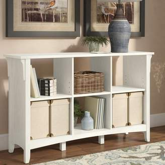 Three Posts Broadview Cube Unit Bookcase in Antique White