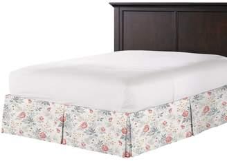 Loom Decor Tailored Bedskirt Florette - Rose