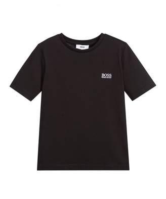 HUGO BOSS Kids Small Logo Classic T-shirt