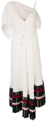3.1 Phillip Lim pleated asymmetrical dress