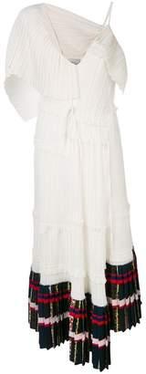 3.1 Phillip Lim pleated asymmetrical dress