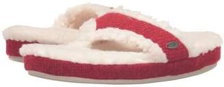 Acorn Thong Ragg Women's Slippers