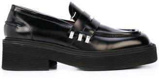 Marni chunky sole penny loafers