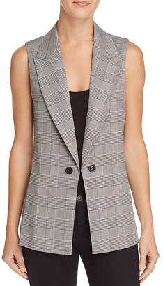 Aqua Plaid Vest - 100% Exclusive